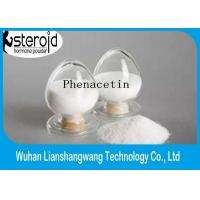 Wholesale Pain Killer Drug Pharmaceutical Raw Materials Phenacetin Fenacetina CAS 62-44-2 from china suppliers