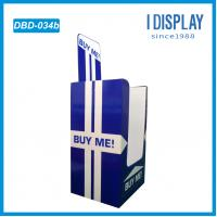 Wholesale Full color printing cardboard display dump bins rack for books from china suppliers