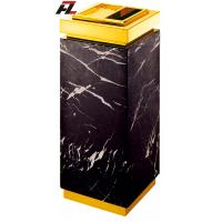 Wholesale Luxurious Marble Ash Bin with Astray-Waste Bin and Ash Tray for Lobby from china suppliers