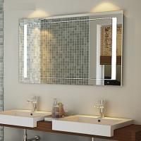 Wholesale Luxurious hotel bath mirror with heating pads and lock TV and radio from china suppliers