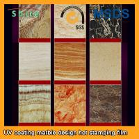 Wholesale PVC Wall Panels PET Heat Transfer Film With Wood Grain Or Marble Printed from china suppliers