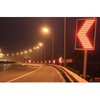 Buy cheap GPS Controlled LED Curve Flashing Warning Sign Solar Traffic Signals from wholesalers