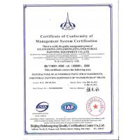 Guangdong Jingzhongjing Industrial Painting Equipment Co.,Ltd Certifications