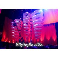 Wholesale Hanging Spiral Decorative Inflatable Light for Stage, Music and Events from china suppliers