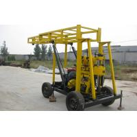 Wholesale Bore well 22HP diesel engine Water Drilling Rig can drill 220m depth from china suppliers