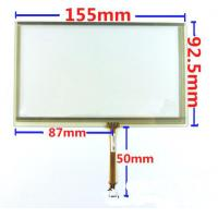 Wholesale 6.5 inch resistive touch panel screen for GPS navigation devices, GPS digitizer , DVD touch replacement from china suppliers