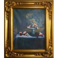 Wholesale wooden oil painting picture frame,office and home decoration from china suppliers