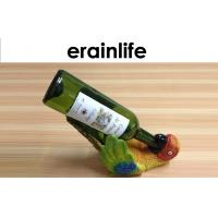 Wholesale One Bottle Wine Holder Lovely Parrot Design Polyreisn Home Decor from china suppliers