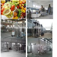 fresh fruit/concentrate juice processing machine