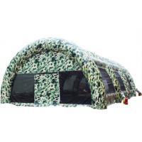 Buy cheap Camouflage Inflatable Military Tent from wholesalers