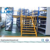 Wholesale Durable Steel Board Warehouse Mezzanine Floors , AS4084 Mezzanine Pallet Racking from china suppliers