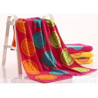 Wholesale Woven Dye Yarn Organic Cotton Bath Towels Colorful OEM Available from china suppliers