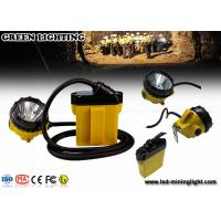 Wholesale 25000 Lux IP68 Cree mining Headlamp SOS warning with 2A Single Cradle Charger from china suppliers