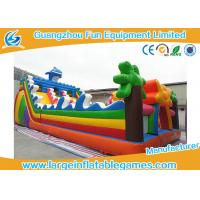 Quality Sea World Large Inflatable Games , Inflatable Indoor Playground Equipment For Kids for sale