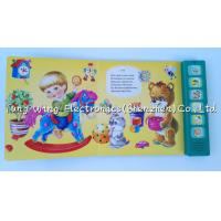 Wholesale Voice recordable 6 Button Animal Sounds Book with Multi Sound Panels from china suppliers