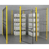 Buy cheap Heavy Duty Wire Mesh Partition with Strong Reinforcement from wholesalers