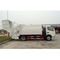 Wholesale RHD 4X2 Garbage Collection Truck , Commercial Trash Compactor Truck 6CBM from china suppliers