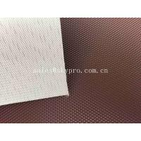 Quality Anti - Static 1.5mm PVC Conveyor Belt Red Diamond Patterned 0.8mm - 50mm Thickness for sale