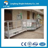 Wholesale electric lifing cradle / suspended platform / hot galvanized electric suspended scaffolding from china suppliers