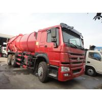 Wholesale Factory sale best price SINO TRUK HOWO 18cbm septic tank truck, HOT SALE! HOWO 6*4 LHD/RHD 16,000Liters vacuum truck from china suppliers