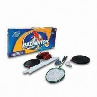 Buy cheap Sporting Toys, Badminton Playing Set in Color Box, Sized 63.5 x 7 x 30cm from wholesalers