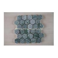 Wholesale Dark Green Marble Mosaic Tiles Hexagon Design from china suppliers