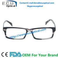 Wholesale 2014 New Design Female Style Glasses Stone Color Male Acetate Vintage Optical Frames from china suppliers