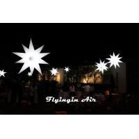 Wholesale Hot Inflatable Star with 16-color LED Light for Event and Dinner Decoration from china suppliers