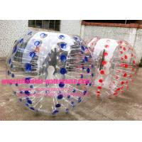 Wholesale 0.8MM Transparent Body Bumpers Inflatable Bubble Soccer Football CYBB-1612 from china suppliers
