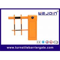 Wholesale Car Barrier Arm Gates / Automatic Barrier Gate with Folding Boom from china suppliers
