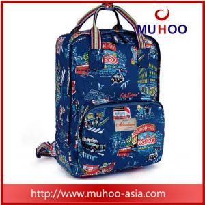 Quality fashion flower handbag laptop school bag travel backpacks for outdoor for sale
