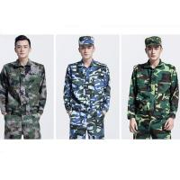 Long Sleeve Waterproof Army Military Uniforms , Medium Thickness Army Camouflage for sale