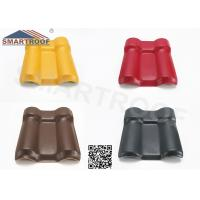 Wholesale Color Choice PlasticRoof Panels Synthetic Resin Roof Tile For 10 Years Color Lasting from china suppliers