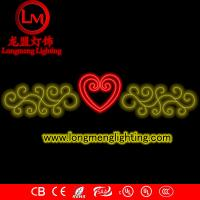 Wholesale holiday lights cross street motives lights from china suppliers