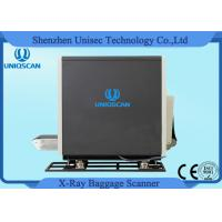 Wholesale Dual View Middle X Ray Baggage Scanner , 2 Generator x ray luggage scanner Security from china suppliers