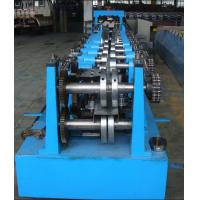 Buy cheap Automatic C Z Purlin Roll Forming Machine 17 Rollers with PLC Control from wholesalers