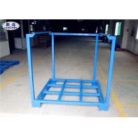 Wholesale Cargo Forklift Stacking Pallet Racks Durable Galvanized Iron Steel Save Space from china suppliers