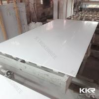 Scratch Resistant Quartz stone Tile Pure White Quartz Stone Slab