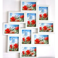 Wholesale wholesale PS photo frame white photo frame collage photo frame home decoration from china suppliers