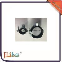 Wholesale M8 / M8+10 Nut Steel Galvanized Hanging Pipe Clamp With Rubber from china suppliers