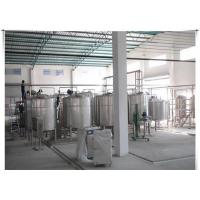 Wholesale UHT Milk / Pasteurized Milk Processing Line With ISO CE Certificate , 1-20 T/H from china suppliers