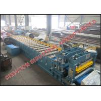 Wholesale Pre painted Iron Roof Panel Roll Forming Machine / Roof Tile Making Machine from china suppliers