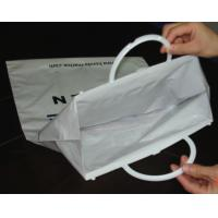 Wholesale White Plastic Shopping Bag from china suppliers