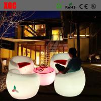 Wholesale 16 color changable Hot Selling Whaterproof Furniture LED Glowing Chair For Outdoor Yard Garden Party Club Event Park from china suppliers