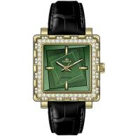 Wholesale Ladies Jewelry Green Jade Watch Multifunction Stainless Steel from china suppliers
