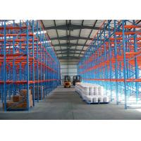 Wholesale Durable Warehouse Multi Tier Drive In Steel Pallet Racks , 6000mm Racking Systems from china suppliers