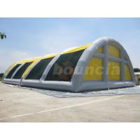 Wholesale 30mL*18mW*8mH Airtight Inflatable Paintball Field With Durable PVC Tarpaulin from china suppliers