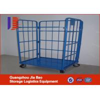 Wholesale Folding Steel Mesh Logistics Trolley / Cart Handling Tools ISO9001 from china suppliers