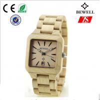 Wholesale Man Bewell Bamboo Watch from china suppliers