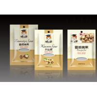 Wholesale Three Side Seal Foil Pouches Packaging With Zipper Window For Nut Packaging from china suppliers